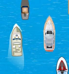 Speed Boat Parking
