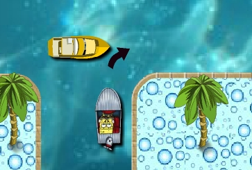 SpongeBob Boat Parking