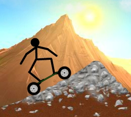 Stickman Mountain Skating