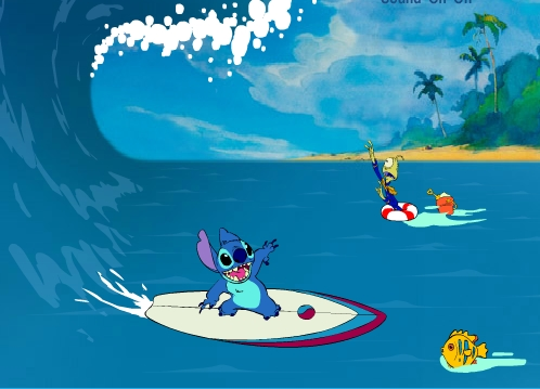 Lilo And Stitch Surf Adventure