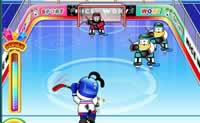 Puppy Ice Hockey